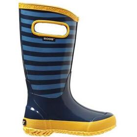 Bogs Stripe Rainboot Kids Blue